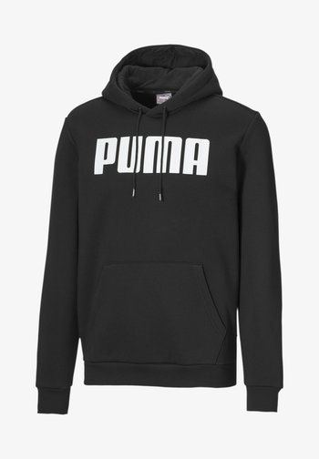 Sweatshirt - cotton black