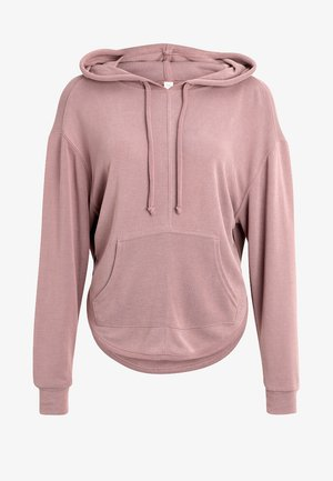 BACK INTO IT HOODIE - Jersey con capucha - rose