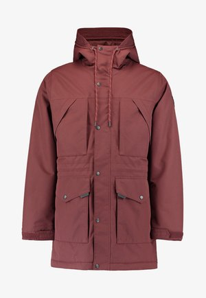 JOURNEY PARKA JACKET - Snowboard jacket - bitter chocolate