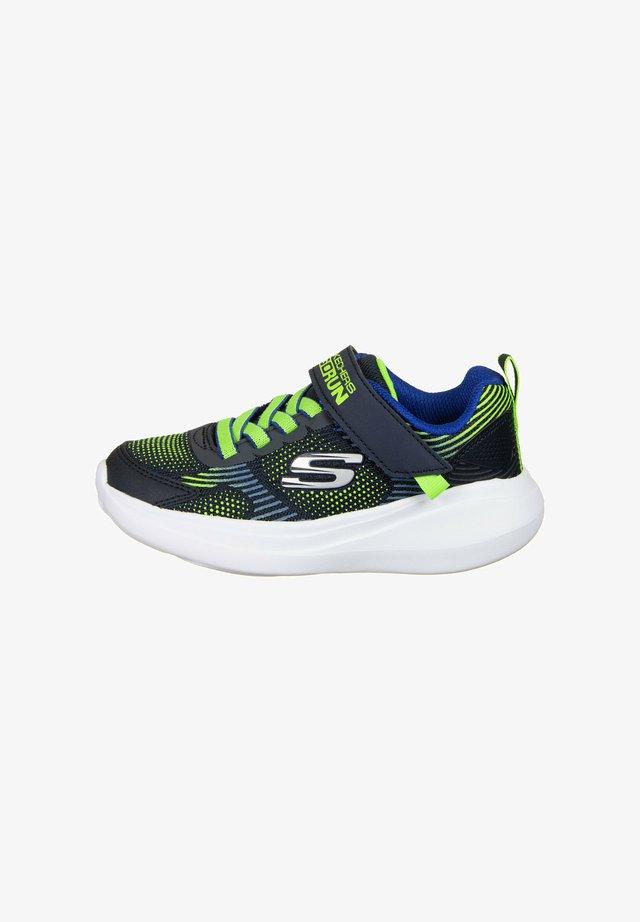 Sneakers basse - navy / lime