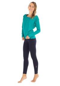 Winshape - LONGSLEEVE - Sweatshirt - ocean green - 0