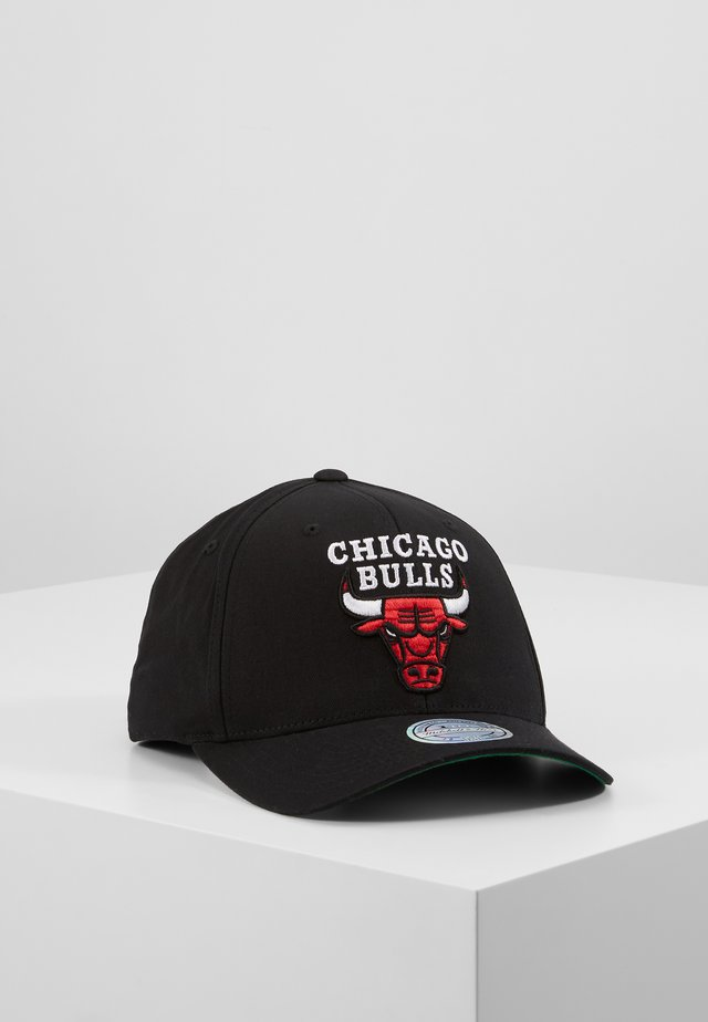 NBA CHICAGO BULLS TEAM LOGO HIGH CROWN 6 PANEL 110 SNAPBACK - Cap - black