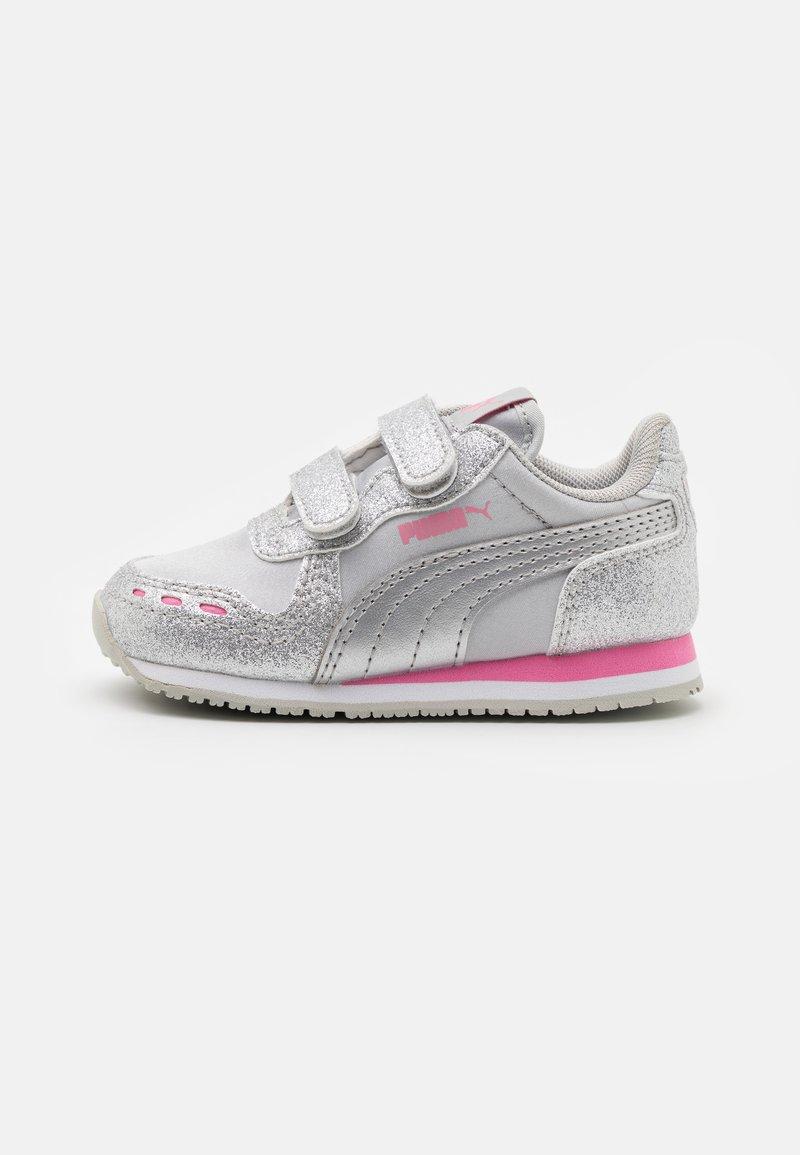 Puma - CABANA RACER GLITZ  - Trainers - silver/sachet pink