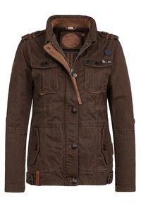Naketano - Summer jacket - brownie - 2