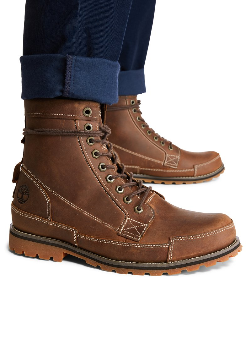 Timberland - ORIGINALS II 6 INCH - Lace-up boots - rust full grain
