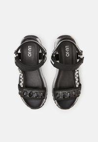 Liu Jo Jeans - MAXI - Platform sandals - black - 4