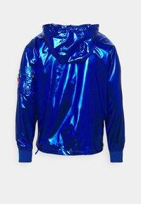Alpha Industries - GLOSSY ANORAK - Summer jacket - nasa blue - 1