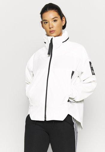 MYSHELTER PAR - Hardshell jacket - white