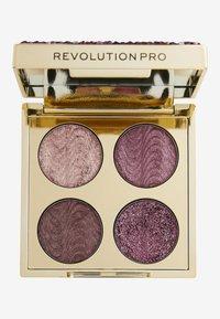 Revolution PRO - ULTIMATE CRYSTAL EYE QUAD - Eyeshadow palette - pink topaz - 0