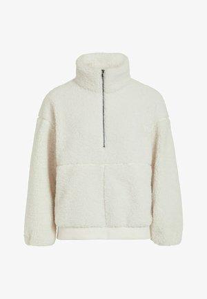 TEDDY - Fleece jumper - gardenia