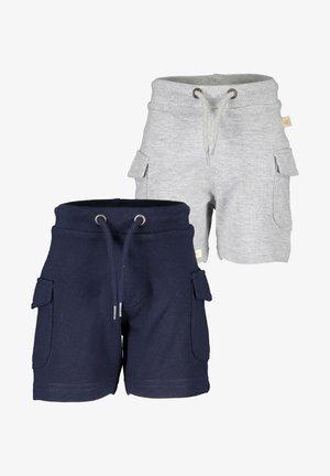 BASICS - Shorts -  nachtblau nebel