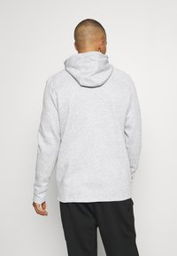 Under Armour - BASELINE FULL ZIP HOODIE - Hættetrøjer - mod gray full heather - 2