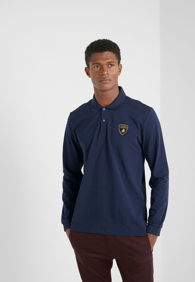 Polo shirt - prussian blue