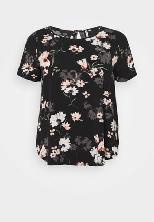 CARLUXMAJA  - Camiseta estampada - black