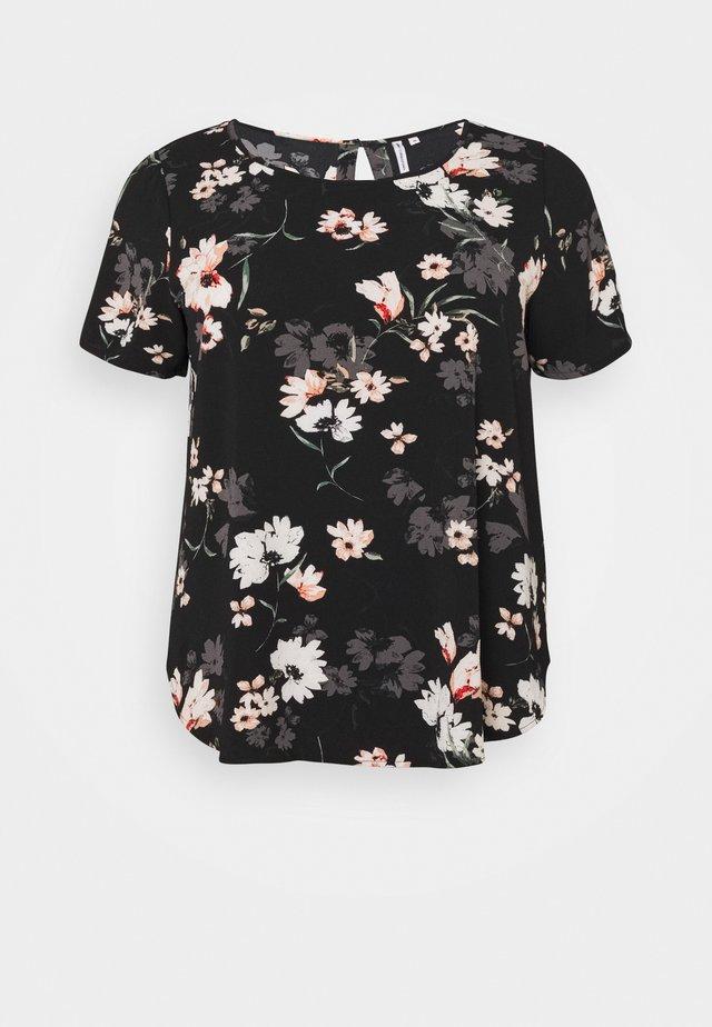 CARLUXMAJA  - Print T-shirt - black