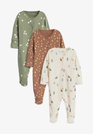 3 PACK - Pyjamas - khaki