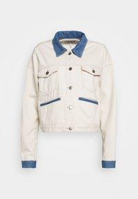SIKA JACKET - Denim jacket - off white