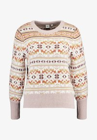 GAP - FAIRISLE CREW - Maglione - brown