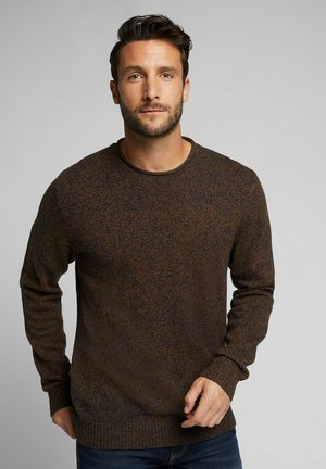Strikpullover /Striktrøjer - light brown