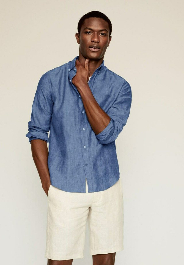 SLIM FIT - Shirt - dunkles marineblau