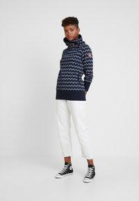 Ragwear - ZIG ZAG - Sweater - navy - 1