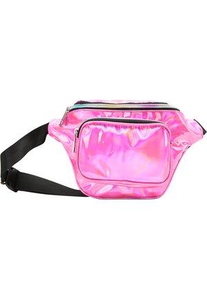 GÜRTELTASCHE - Bum bag - pink holo