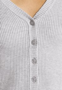 Even&Odd - Cardigan - mottled light grey - 3