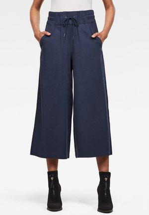 HIGH WAIST CULOTTE - Tracksuit bottoms - sartho blue