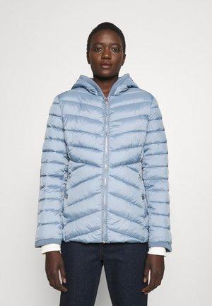 INSULATED COAT - Light jacket - dusty blue