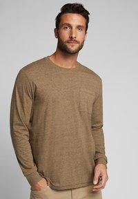 Esprit - Long sleeved top - toffee - 0