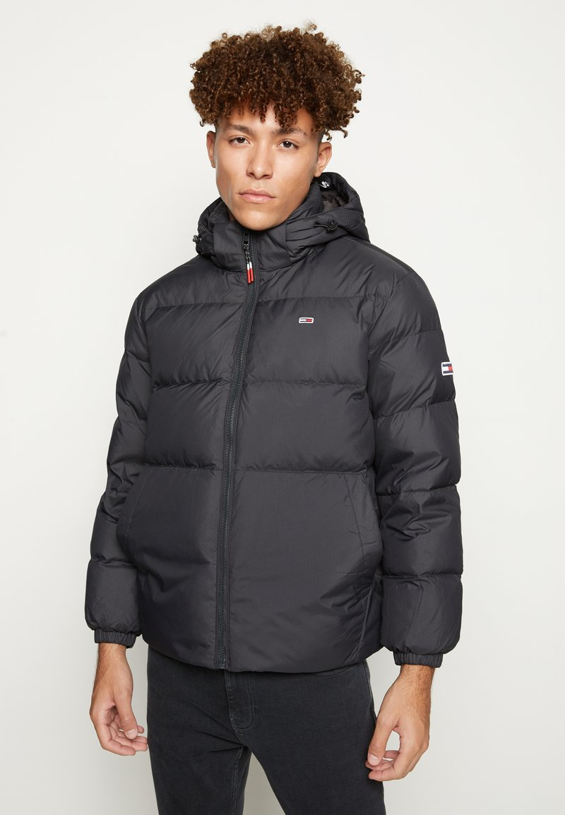 Tommy Jeans - ESSENTIAL JACKET - Piumino - black