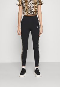adidas Originals - TIGHT - Leggings - Trousers - black - 0