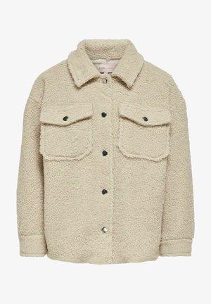 Fleece jacket - pumice stone