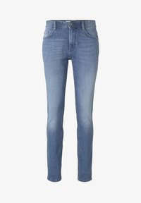 TOM TAILOR - JEANSHOSEN JOSH REGULAR SLIM JEANS - Slim fit jeans - light stone wash denim - 6