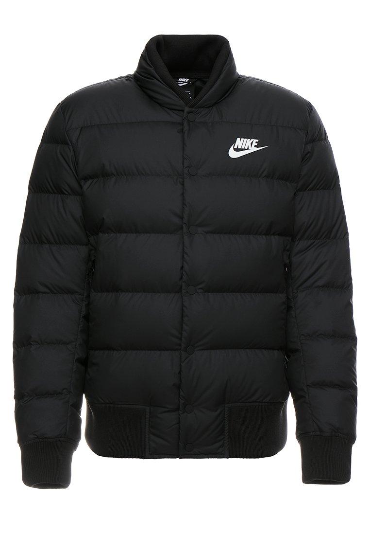 Gewatteerde jas blackwhite
