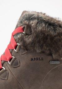 Aigle - TENERE LIGHT RETRO  - Snowboots  - grey - 2