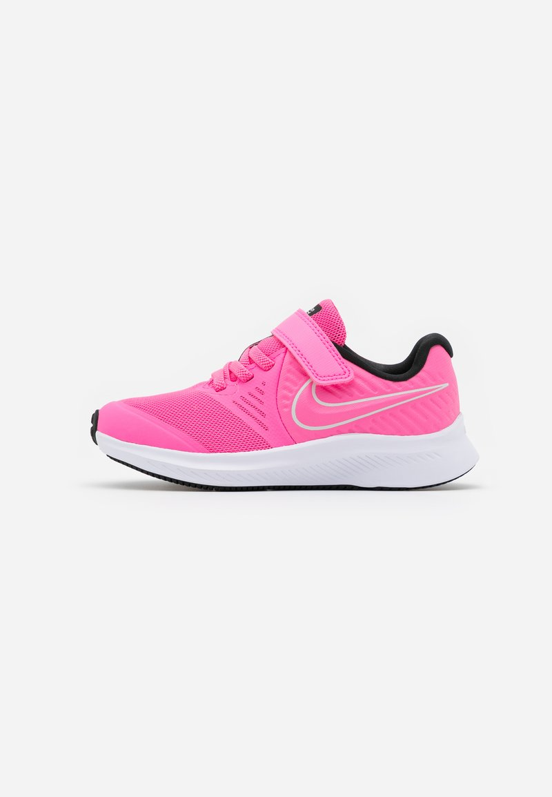 Nike Performance - STAR RUNNER 2 UNISEX - Neutral running shoes - pink glow/photon dust/black/white