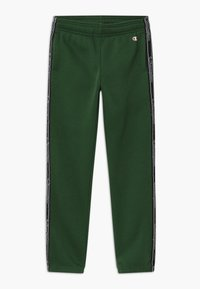 Champion - AMERICAN CLASSICS TAPE - Tracksuit bottoms - dark green - 0