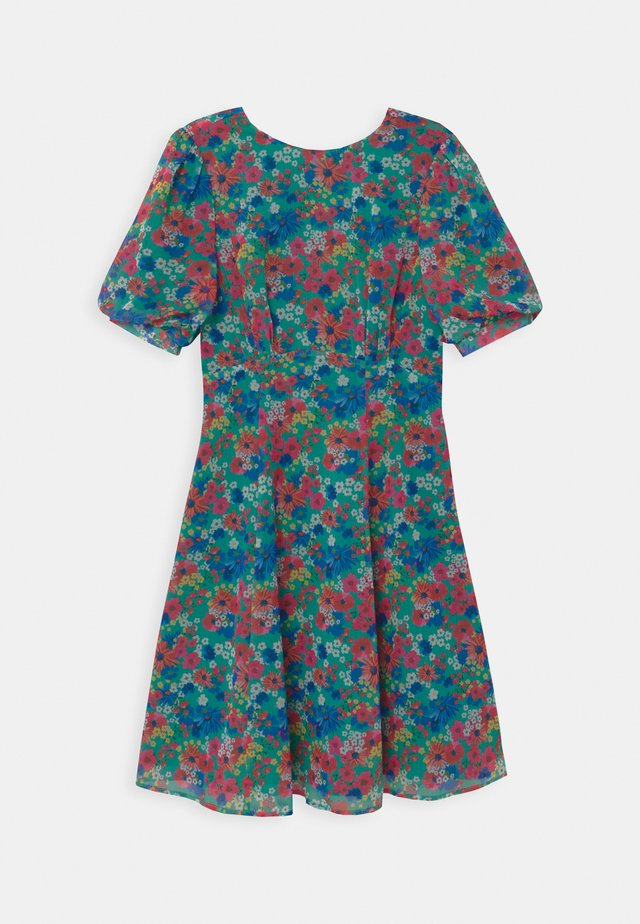TIE BACK FLORAL MIDI  - Day dress - multi