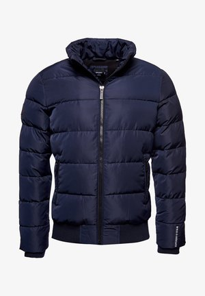 TRACK SPORT PUFFER - Winter jacket - navy/black