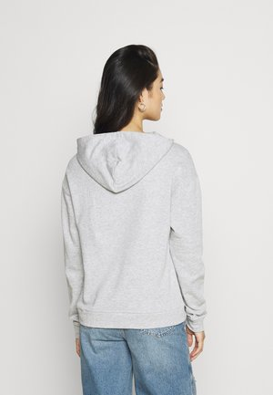 VIRUST HOODIE - Hoodie - light grey melange