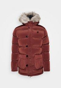 SIKSILK - STOP PUFF - Zimní kabát - red - 3