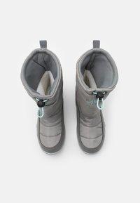 Kappa - CESSY TEX UNISEX - Winter boots - grey/mint - 3
