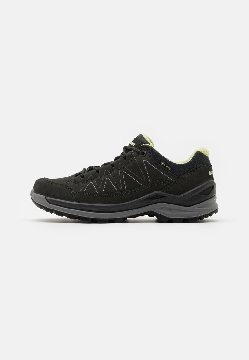 Lowa - TORO EVO GTX LO - Hiking shoes - anthracite/mint