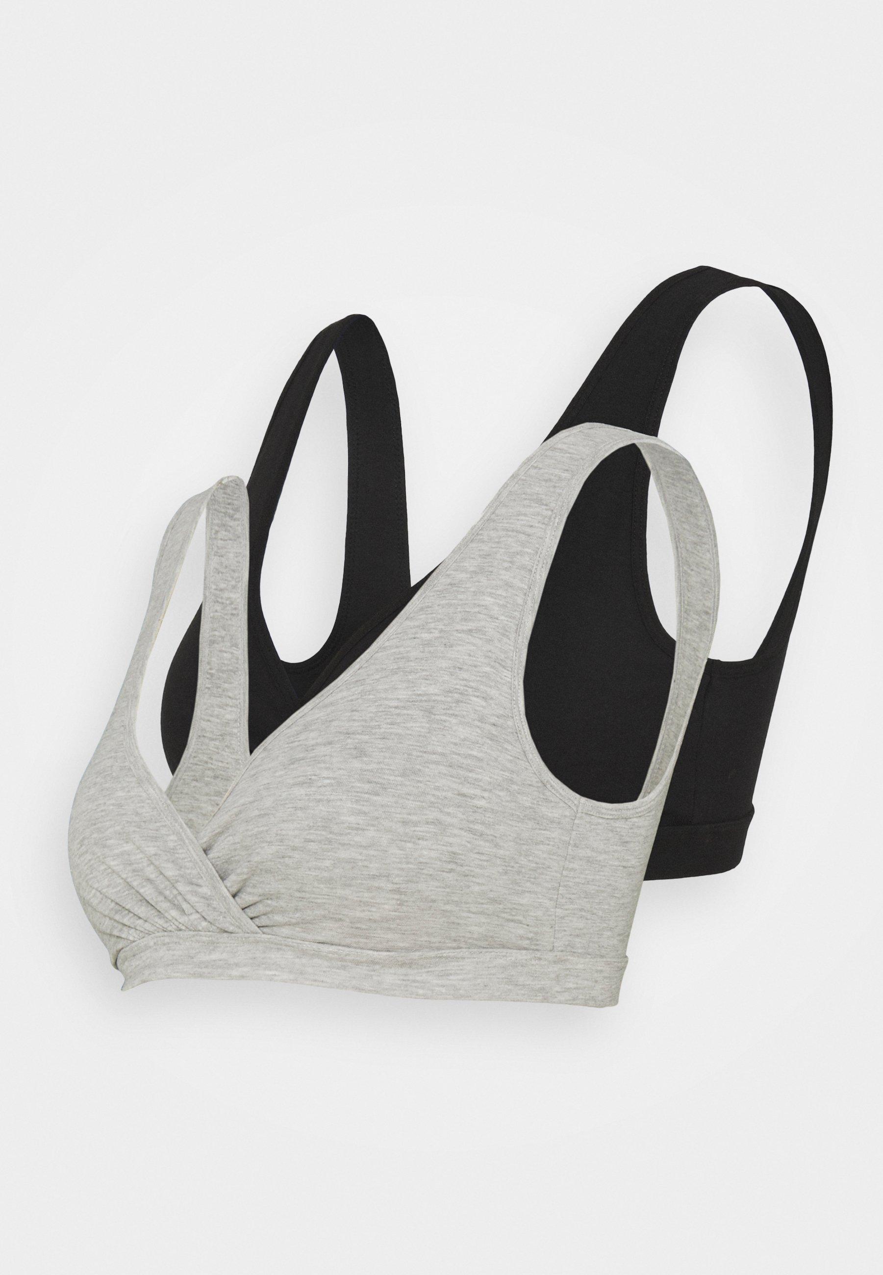 Women WRAP NURSING TOP 2 PACK - Triangle bra