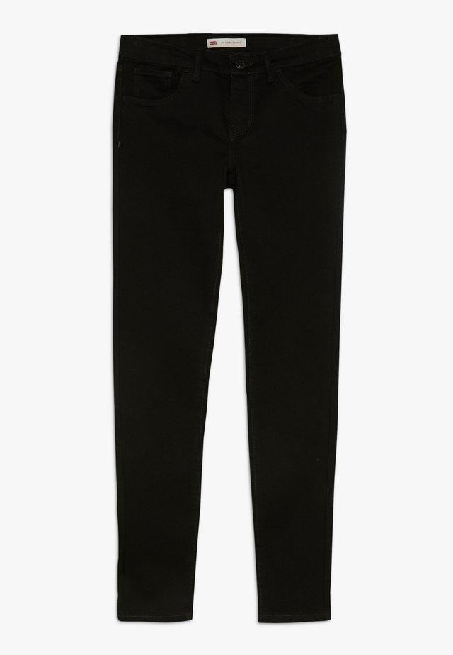710 SUPER SKINNY  - Jeansy Skinny Fit - rinsed black