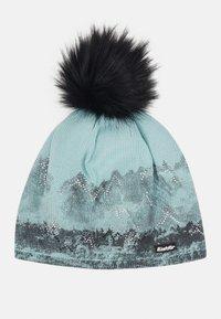 Eisbär - DRAW CRYSTAL - Bonnet - schwarz/frost/schwarz - 1