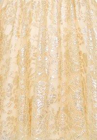 Alice McCall - MAGIC THINKING MINI DRESS - Koktejlové šaty/ šaty na párty - gold - 2