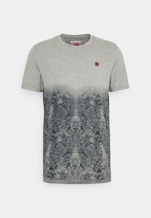 DAY JAPAN - Print T-shirt - grey mix