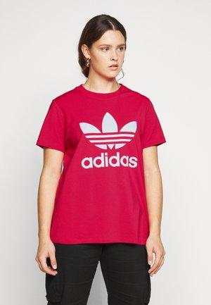 TREFOIL TEE - T-shirts print - power pink/white